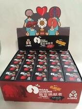 FULL CASE OF 25 ORGAN DONORS DESIGNER URBAN VINYL FIGURE BLIND BOXES FOOX