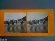 STC185 Algérie traversée de l'oued Eddous stereoview photo STEREO ancien vintage