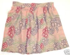 New NWT Forever 21 boutique juniors L, Large Lined  floral mini skirt