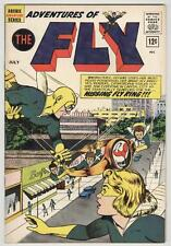 Adventures of the Fly #20 July 1962 VF Origin Fly-Girl retold
