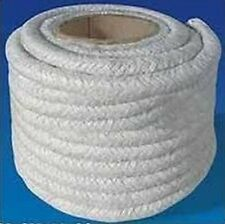 25mm 1 inch GLASS FIBRE SEAL LAGGING ROPE STOVE & FIRES