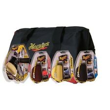 Meguiar's DA Power System Kit with Compound, Polish, Wax and Buffing Pads & Bag