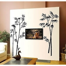 Black Tree Branch TV background decor Wall sticker Wallpaper wall decals mural