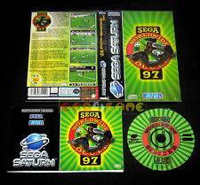 SEGA WORLDWIDE SOCCER 97 Sega Saturn Versione Italiana ••••• COMPLETO
