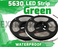 2X 5M 300Leds 5630 GREEN Super Bright LED Strip SMD Light Waterproof 12V DC
