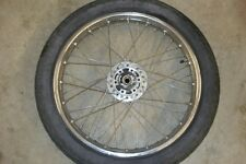 1980 HONDA CB 750C FRONT WHEEL/TIRE