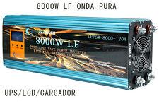 Inverter 8000W LF Inversor De Onda Pura Del Seno DC 24V/AC 230V+LCD+Cargador