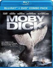 Moby Dick (Blu-ray + DVD) William Hurt, Ethan Hawke NEW