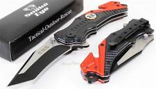 SNAKE EYE EMT/EMS Future Tanto Survival Rescue Speed Spring Assisted Knife NEW