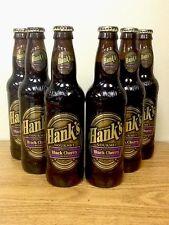 Hank's Gourmet Black Cherry Sixpack Glass Bottle Soda