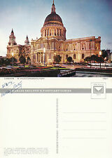 1974 St PAULS CATHEDRAL LONDON UNUSED COLOUR POSTCARD