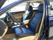 IGGEE S.LEATHER CUSTOM FIT SEAT COVER FOR 2009-2012 NISSAN MAXIMA