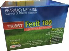 BEST PRICE! SAME AS TELFAST FEXOFENADINE 180MG **50** TABLETS Hayfever Allergy