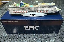 NCL Norwegian Cruise line EPIC Cruise Ship Model