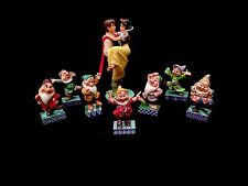 Jim Shore Disney Princess- Snow White and the 7 Dwarfs 8-Piece Set! New in Box