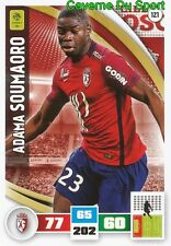 121 ADAMA SOUMAORO LOSC LILLE.OSC Royal Mouscron CARD ADRENALYN 2017 PANINI