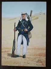 POSTCARD FRENCH FOREIGN LEGION - LEGIONNAIRE 2ND REGT ENTRANGERE MAROC 1908