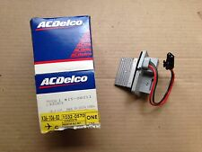 NEW, GENUINE OEM -- AC Delco 15-80211 GM 10320570 Blower Motor Resistor