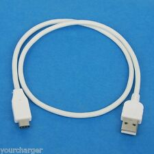 50cm SHORT USB 2.0 Type A to C Charger Cable WHITE for Samsung Galaxy Tab S3 LTE