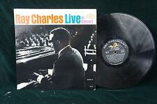ABC 500MONO Ray Charles IVE IN CONCERT E/E Jacket E