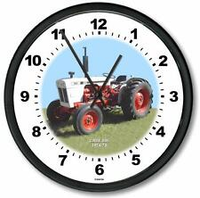 "New RC CASE Model 885 Tractor Wall CLOCK 10"" Round Years 1974-1975"