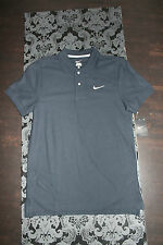 Nike Herren Polo Shirt Schwarz Baumwolle Größe S Neu mit Etikett