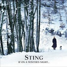 STING If On A Winter's Night CD 2009 UMG Records Universal DIGIPAK The Police
