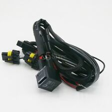 HID Anti Flicke Relay Wiring Harness For Xenon Conversion Kit H1 H7 9005 9006