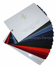 2010 FERRARI PAINT CHIP PPG OUT OF RANGE COLOUR SAMPLES PNT0