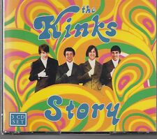 The Kinks Story - The Kinks ( 3 CD Box ) RARE CD