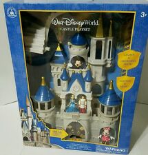 2016 DISNEY PARKS WALT DISNEY WORLD CINDERELLA CASTLE TOY PLAY SET MICKEY MINNIE