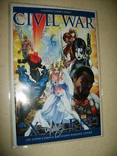 CIVIL WAR: X-MEN #1 signed by MICHAEL TURNER/ASPEN COMICS VARIANT