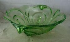 antike Glas Schale Uranglas Art Deco