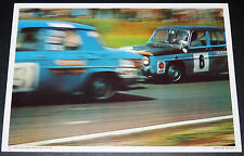 PHOTO ELF 1970 COUPE NATIONALE R8 GORDINI LAGIER PILOTE RENAULT