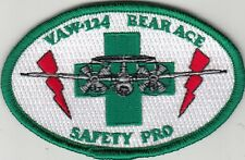 VAW-124 BEAR ACE SAFTY PRO OVAL SHOULDER PATCH