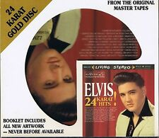 Presley, Elvis 24 Karat Hits DCC GOLD CD Limited Edition No. 6932