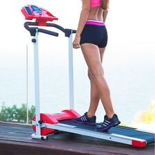 Fitness 7001 Treadmill Running Machine With Speakers, Motorised Folding Electric