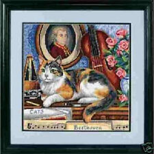 Needlepoint Kit GERSHWIN Dimensions Cat Kitten