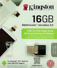 Kingston DataTraveler 16GB microDuo 16GB USB 3.0 Stick OTG 16GB DTDUO3/16GB