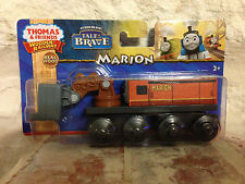 Thomas' friend Marion-  for wooden tracks- new in pkg # BDG05   FREE SHIPPING