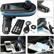 Car Wireless FM Transmitter Audio Mp3 Player Charger USB Kit For AllMobile Phone