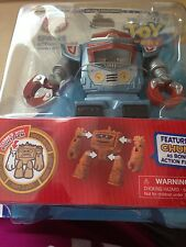 """disney toy story sparks 4 1/2"""" action figure with build chunk part new with box"""