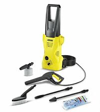 Karcher K2 Car Pressure Washer(March 2015 Series, 110 Bar with Car Cleaning kit)