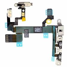 NEW Power Flex Cable - Mute Switch - Volume Buttons With Brackets For iPhone 5S