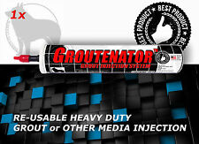 GROUTENATOR For Grout & Mortar - Grout Float replacement - Refillable empty tube