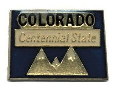 Hat Lapel Push Pin Tie Tac State of Colorado NEW