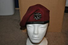 USAF Air Force Pararescue PJ Enlisted Beret Special Ops Combat Rescue Size 7 1/2