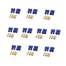 10 Pairs EC5 Device Connector Plug for RC Car Plane Helicopter Lipo Battery Part