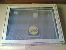 NEW Big PELLA Wood Fixed PICTURE WINDOW w/ Cladding for home, business (35x45)