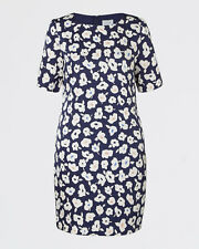 JIGSAW GRAPHIC POPPY SILK BLEND DRESS 12 BRAND NEW WITHOUT TAGS RRP £149